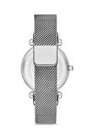 Aqua Di Polo Kadın Hasır Mıknatıslı Kol Saati Gümüş Apsv1-a5435-kh131 Hasır