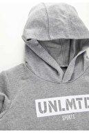 Defacto Erkek Çocuk Yazı Baskılı Sweatshirt Ve Jogger Eşofman Alt Takımı