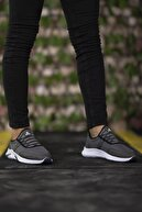 Riccon Füme Beyaz Unisex Sneaker 0012035