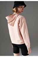 Defacto Regular Fit Organik Pamuk Kapüşonlu Sweatshirt