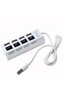 Streak 4 Port High Speed Hızlı Usb 2.0 Çoklayıcı Hub Switch - Siyah