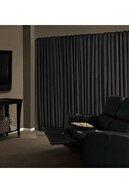 Brillant Blackout Karartma Güneşlik Perde Pilesiz Siyah Lcrblck 100x200 cm