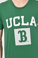 Ucla Tustın Yeşil Bisiklet Yaka Erkek T-shirt