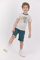 US Polo Assn Erkek Çocuk Bermuda Takım