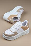 ayakPARK Kalın Taban Günlük Rahat Kadın Sneaker Spor Ayakkabı