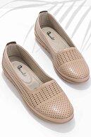Bambi Vizon Kadın Klasik Ayakkabı K01590430009