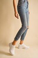 McDark Kadın Beyaz Sneaker