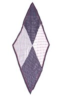 Y-London 12388-1 Piliseli Puantiyeli Lacivert Fular