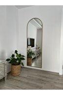 EFFE YAPI DEKOR Gold Metal Çerçevelı Boy Aynası 180x60 Cm