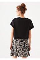 Mavi Siyah Crop Tişört 168220-900
