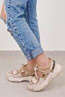 Tinka Bell Shoes Kadın Spor Ayakkabı Bej-rose Multi