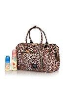 Lal Baby Baggage Bag Leopar Omuz Askılı Anne Bebek Bakım Çantası