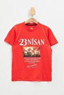 Defacto Erkek Çocuk Atatürk Hologram Baskılı Kısa Kol Tişört