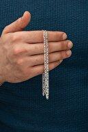 İn Dubai Silver Erkek Figaro 925 Ayar Gümüş Zincir 55 cm Dbse2012