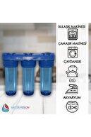 WaterMelon Daire Bina Sayaç Girişi 3 Aşama Su Arıtma Cihazı ( Ağır Kireç Önleyici Yumuşatma Sistemi )