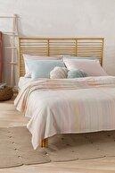 English Home Contemporary İpliği Boyalı King Size Pike 220x240 Cm Pembe - Mint