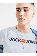 Jack & Jones Jack&jones Yazılı 0 Yaka Kısa Kol Tsh
