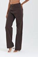 cracpot Kadın Kahverengi Jeans 1119