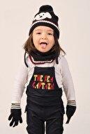 Suve Çocuk Şapka Eldiven Boyunluk Seti