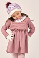 Suve Kız Çocuk Şapka Eldiven Boyunluk Seti