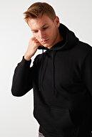 Buratti Kanguru Cepli Şardonlu Extra Slim Fit Kışlık Sweat ERKEK SWEAT 5827002