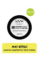 NYX Professional Makeup Mini Pudra Hıgh Defınıtıon Fınısıng Powder Mini Pudra 2.8 Gr
