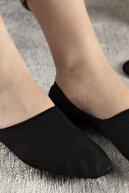 English Home Regular Pamuk Kadın 2'li Babet Çorap Standart Siyah