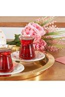 Karaca Tohum Çay Seti  6 Kişilik