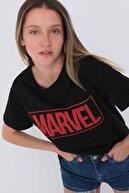 Addax Marvel Yazılı Tişört P0424 - L11
