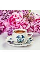 Karaca Iznik Yeni Form 6 Kişilik Kahve Fincanı Takımı