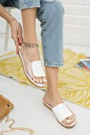 Ekol Ayakkabi Kadın Yanı Şeffaf Terlik