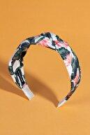 BAHELS Kadın Yaprak Desen Yaz Temalı Düğümlü Taç Saç Bandı