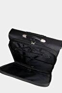Cantaş Çekçekli Tekerlekli Takım Elbise Çantası 199 Siyah