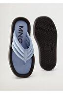 Mango Kapitone Platform Sandalet