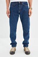 TRENDYOL MAN Indigo Erkek Essential Fit Jeans TMNSS21JE0058