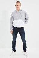TRENDYOL MAN Lacivert Erkek Normal Bel Skinny Fit Jeans TMNSS21JE0293