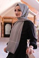 Moda Prusa Kadın Desenli Pamuk Şal - Mpds-0044