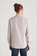 Avva Erkek Bej Oxford Düğmeli Yaka Regular Fit Gömlek E002000