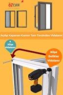 ÖZCAN Plise Pileli Sürgülü Sineklik 0-90 X 0-200 Cm (çelik Kapı, Ahşap Kapı ,pimapen Kapı) Pilise Sineklik