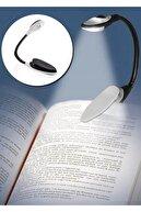 Bilzz Mandallı Led Kitap Okuma Lambası Desk Kitap Okuma Işığı Led Masa Lambası