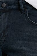 Koton Erkek Mavi Brad Slim Fit Jean Pantolon