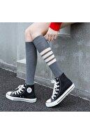 BGK 4 Çift Dizaltı Tarz Yetişkin Çorap Pamuklu