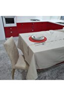 Fabric Box Dekoratif Masa Örtüsü Seti