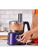 Karaca Mastermaid Power Multifunctional 10 In 1 Grape Purple Gıda Hazırlama Seti 2000w