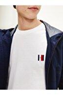 Tommy Hilfiger Men's Navy Blue Essential Monogram Erkek T-shirt