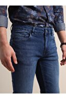 Kip Erkek Açık Lacivert Denim Pantolon KP10120255