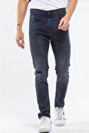 Denigma Erkek Siyah Skinny Fit Jean