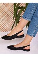 ayakkabıhavuzu Babet Siyah Cilt Ayakkabı