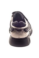 Minipicco Kız Cocuk Platin Deri Ortopedik Destekli Çocuk Ayakkabı