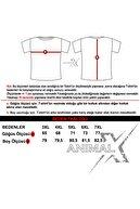 Xanimal Erkek Lacivert Büyük Beden Polo Yaka Cepsiz T-shirt